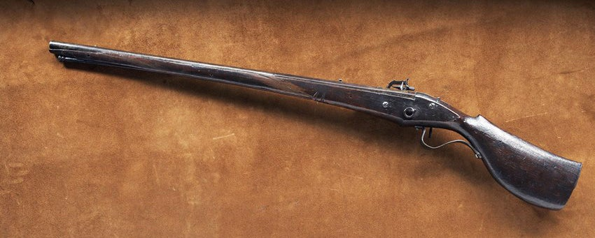 The other side of the Mayflower gun.