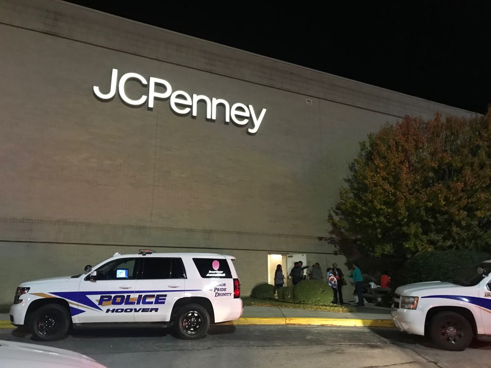 Police responding to a shooting in an Alabama mall allegedly shot and killed an armed security guard.