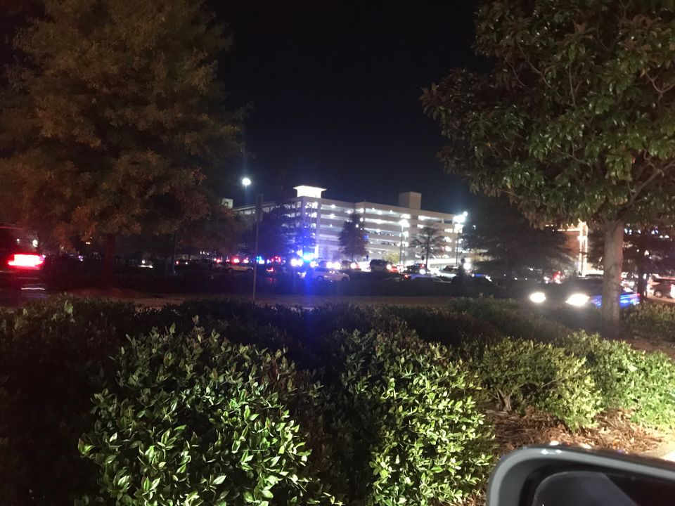 The Riverchase Galleria, Alabama's largest mall, after the shooting.