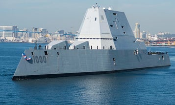Navy Ammo News: Can't Afford Rounds For Zumwalt Ships, Awards 5.56 Contract to Federal