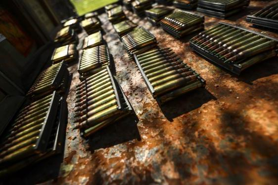 The Navy has placed a $41 million 5.56 NATO ammo order with Federal Ammunition.