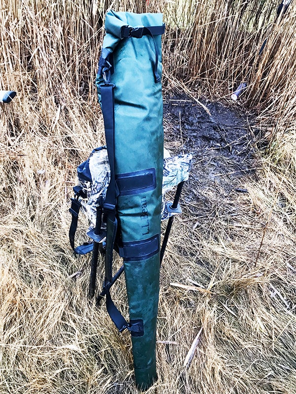 The fold over closure is similar to the ones found on the dry bags favored by white water rafters.
