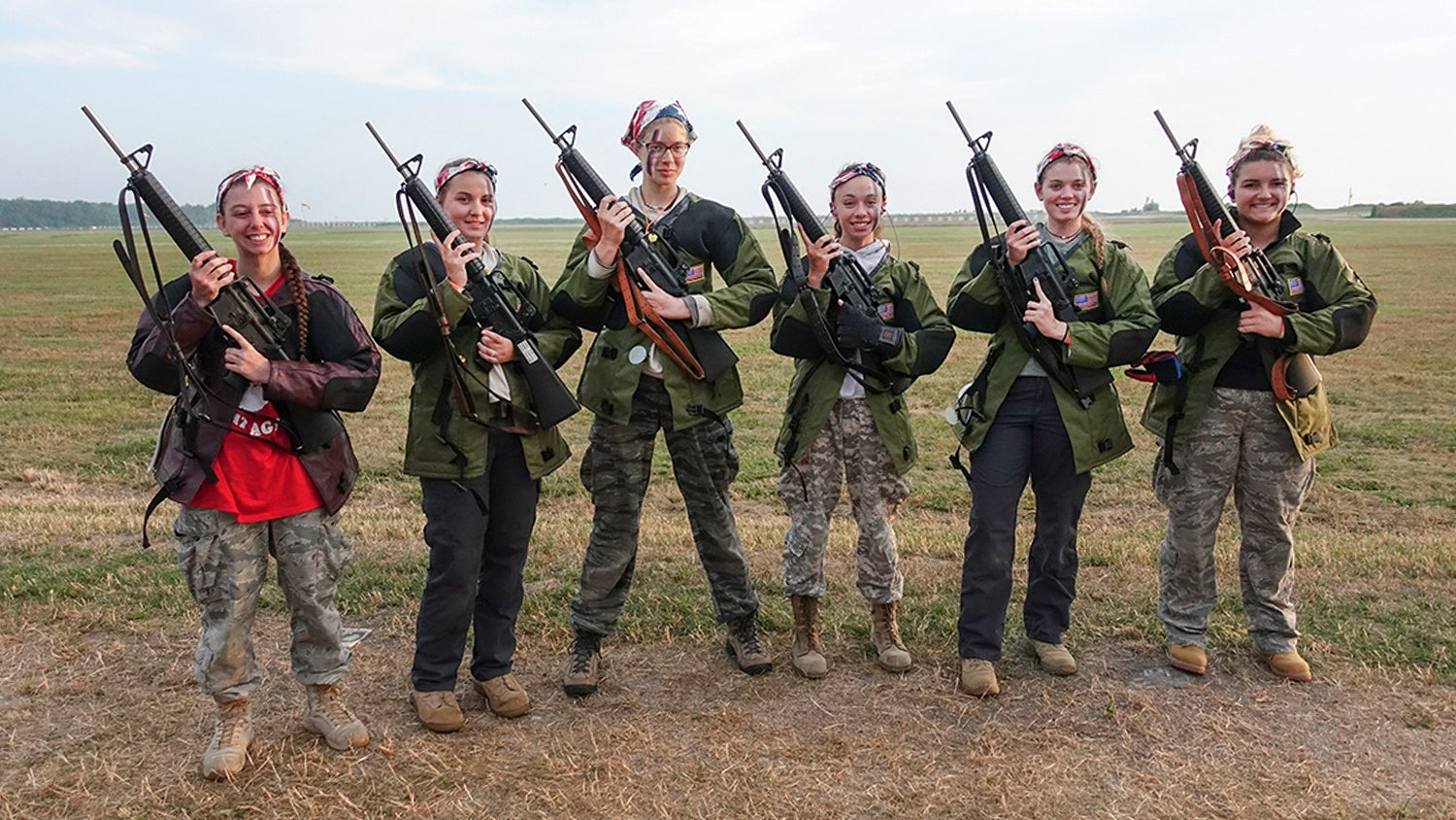 First All-Girl Team Competes in Rattle Battle