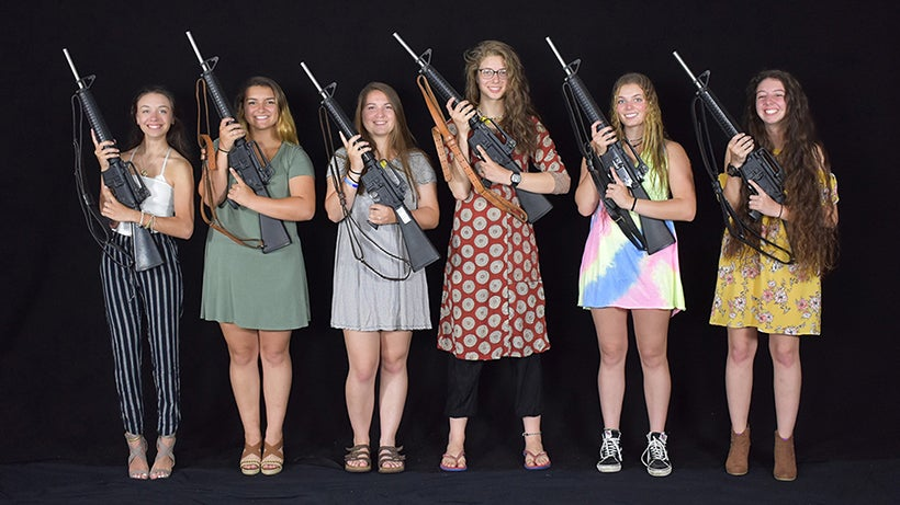 The New Jersey Garden State Gunners junior team competed in the Rattle Battle at Camp Perry this summer.