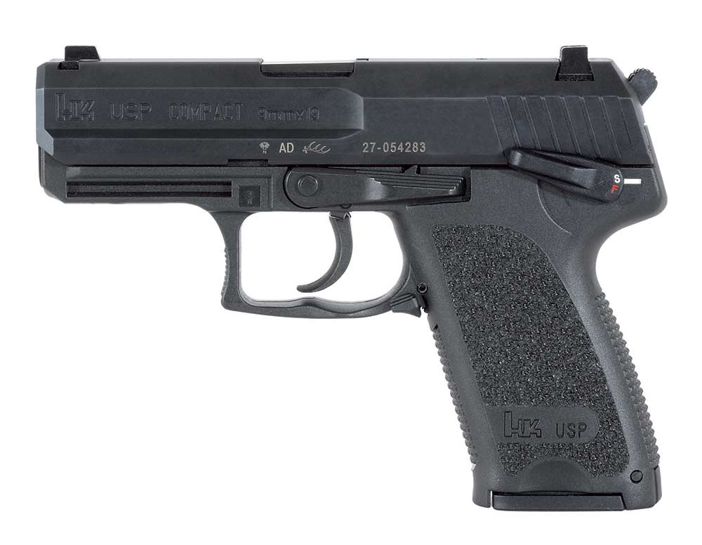 heckler and koch usp compact handgun