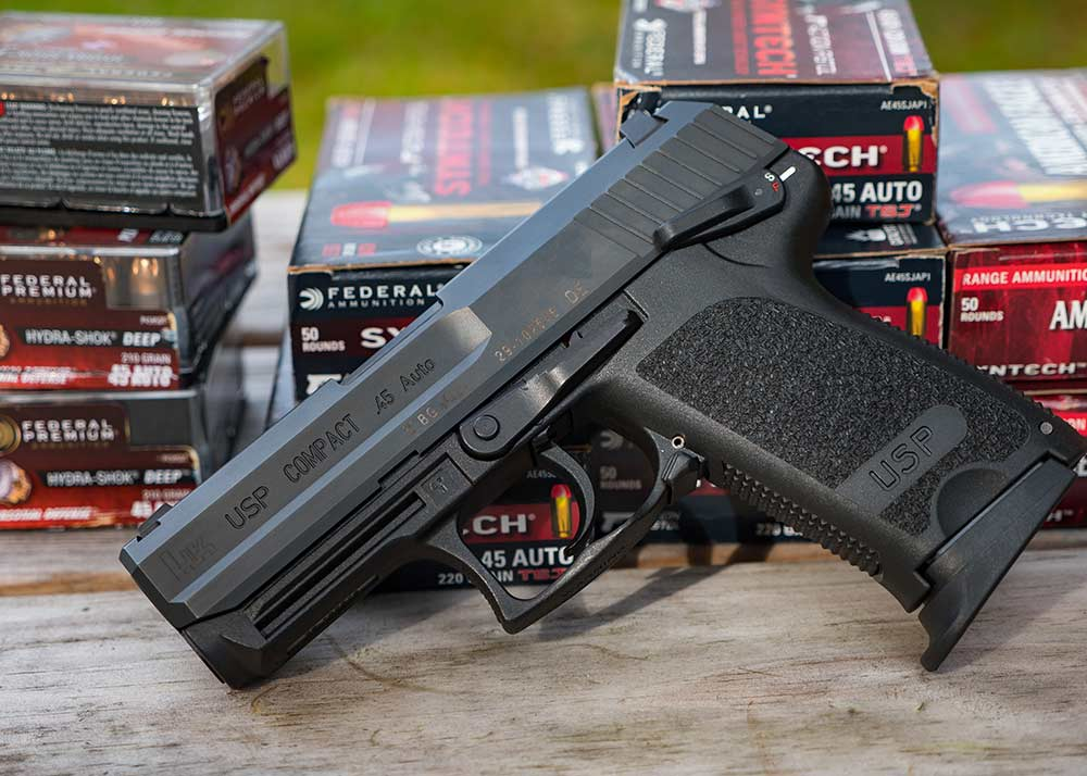 heckler koch usp and federal ammo