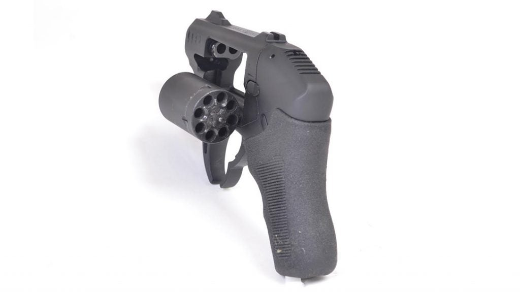 The S333 holds eight rounds of .22 Magnum.