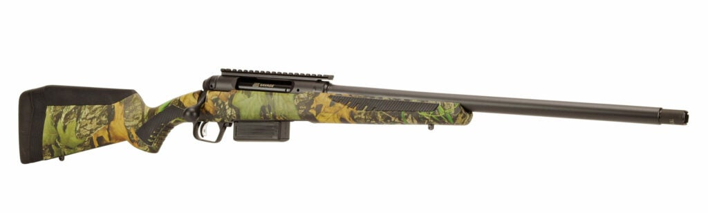 The new Savage 212 turkey gun.