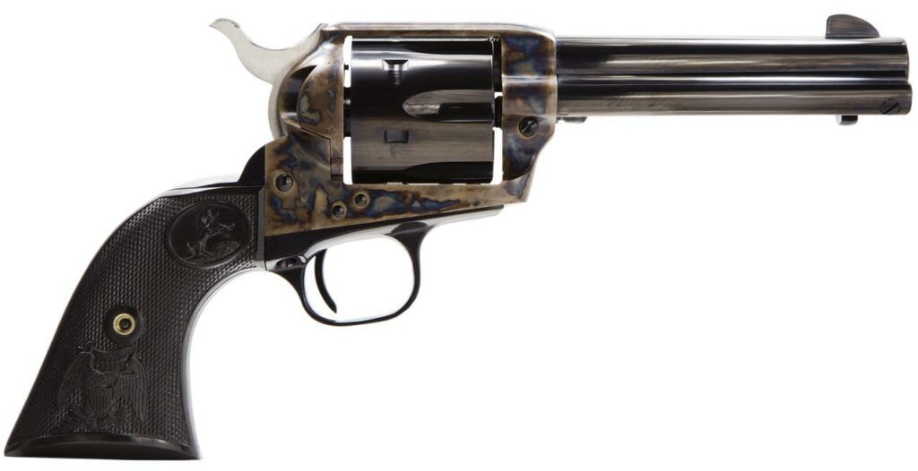 Under a disaster of a bill recently introduced in Oregon, any revolver holding more than 5 rounds would be outlawed, including a model such as this Colt SAA, a design dating back to the 1870s.