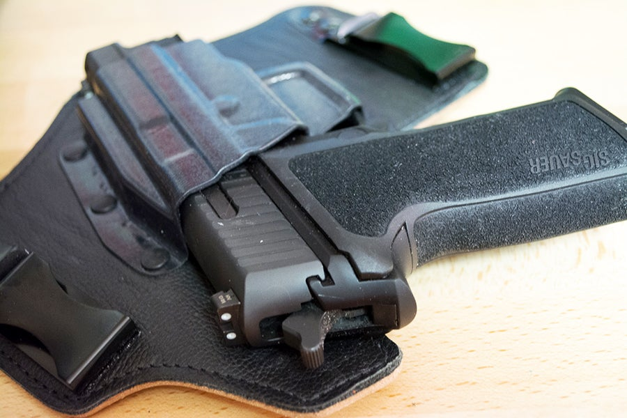 make sure your firearm is secured BEFORE police arrive.