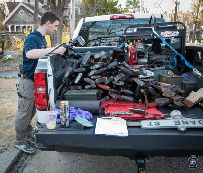 Mass. PD Gets Flack For Seizing Guns