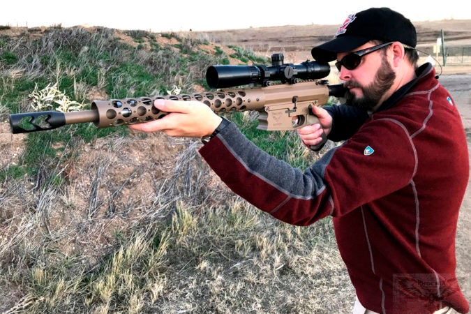 The new rifle can only use specially modified, rimless .45-70 cartridges. The rifle comes with 50 modified shell casings to get reloaders started.