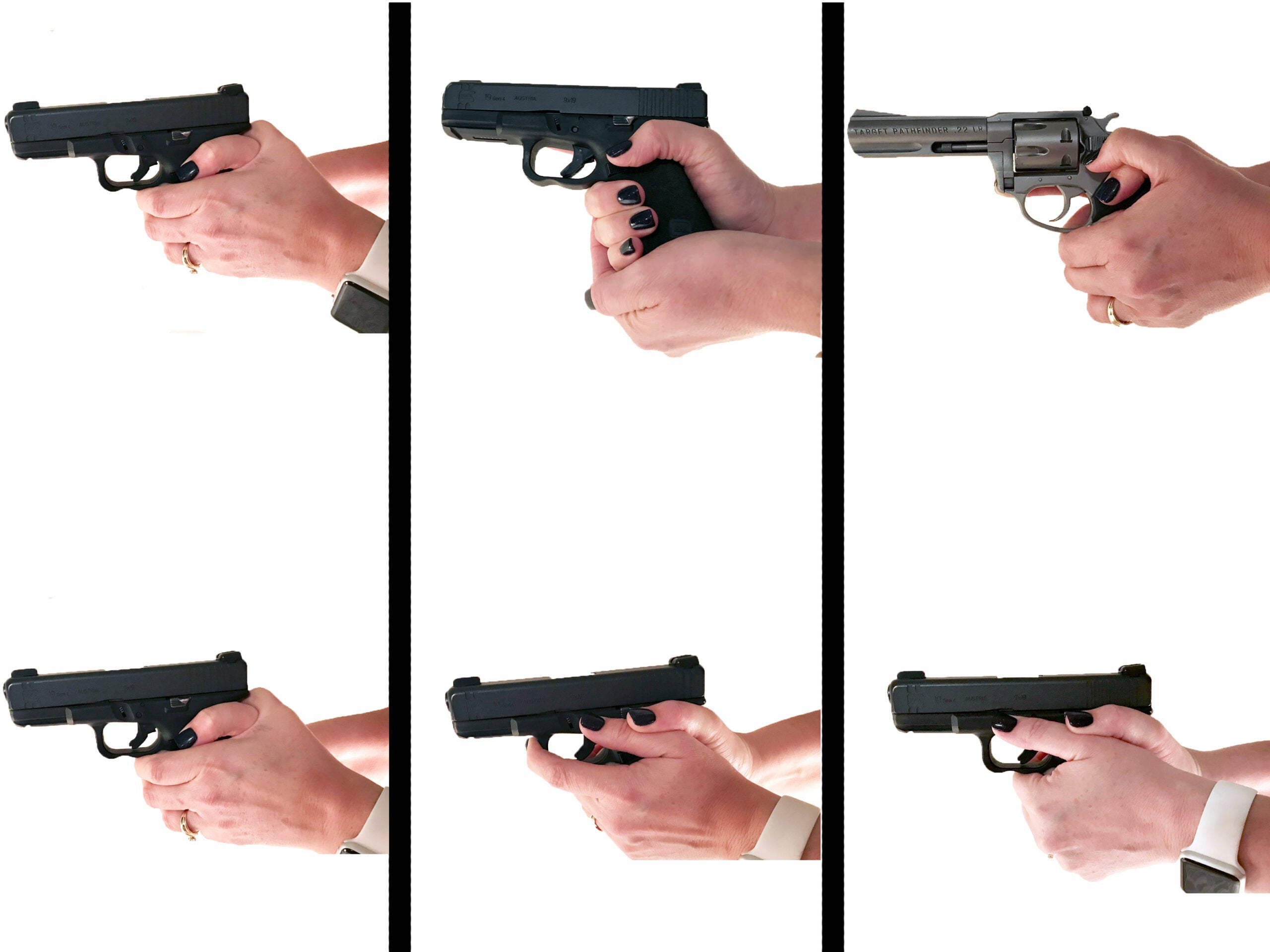 Handgun Grips: What Works, What Doesn't