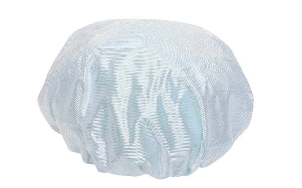 A shower cap is a great way to keep a handgun dry if the sky opens up.