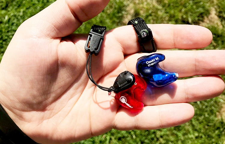Wild Ear's Master Series electronic ear buds are made from silicone molds of your ears.