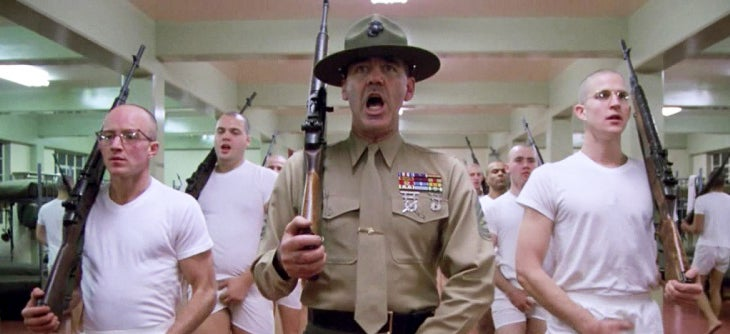 On-Screen Guns of R. Lee Ermey