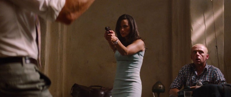 Agent Carter with her Makarov PM pistol.