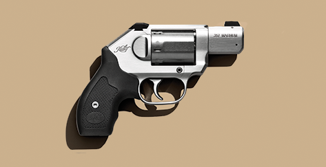The Kimber K6s chambered in .357 Magnum.