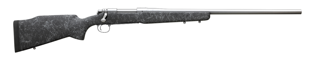 The Remington 700 Long Range model features a Bell and Carlson M40 tactical stock.