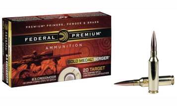 Federal Teams with Berger Bullets for New 6.5 Creedmoor Load