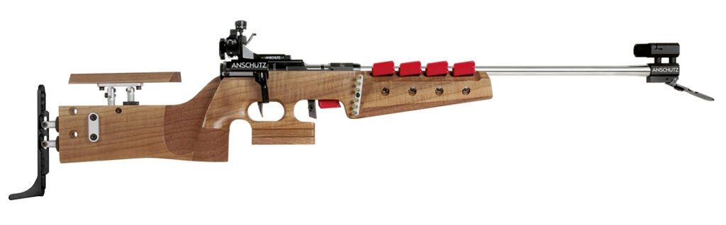 The Anschutz 1827F is used by over 97% of biathlon competitors worldwide.