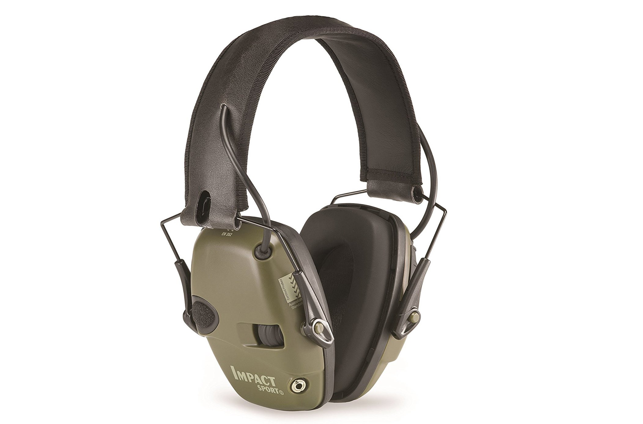 It's difficult to go to a range and not see at least a couple shooters wearing Howard Leight Sport Impact electronic earmuffs.