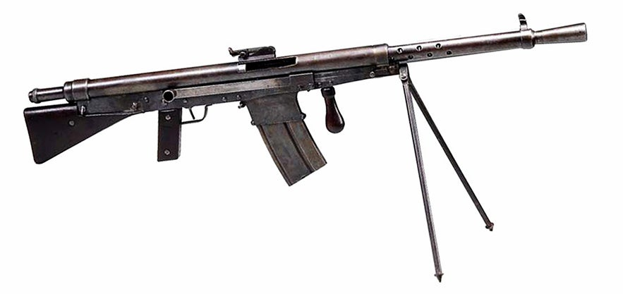 M1918 Chauchat, chambered in .30-06.