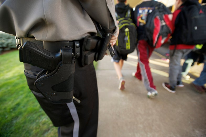 ACLU: School Police Should Not Be Armed