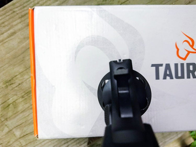 taurus 856 front and rear sights