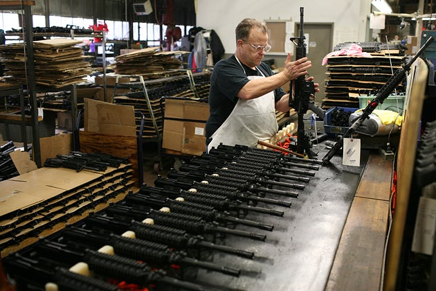 Colt Files for Bankruptcy, Will Auction Business