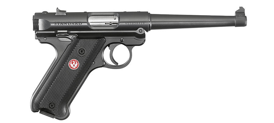 The Mark IV Standard with a 6-inch barrel.