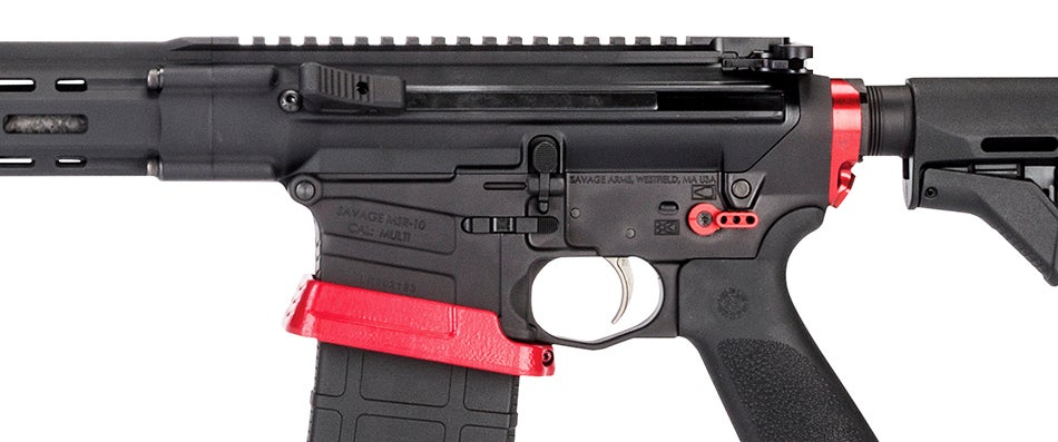 The author found the side-charging handle useful and easy to operate.