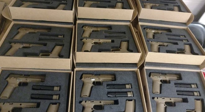 All Military Branches to Adopt SIG Pistol
