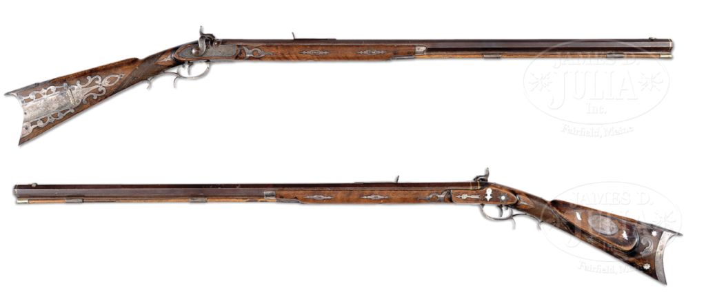 The rifle, which was on display at the Cody Museum for 20 years, is up for auction by the James D. Julia auction house.
