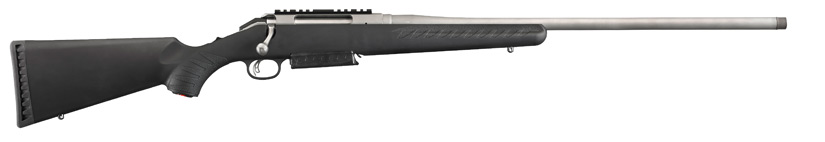The Ruger American Magnum is available in three magnum calibers.
