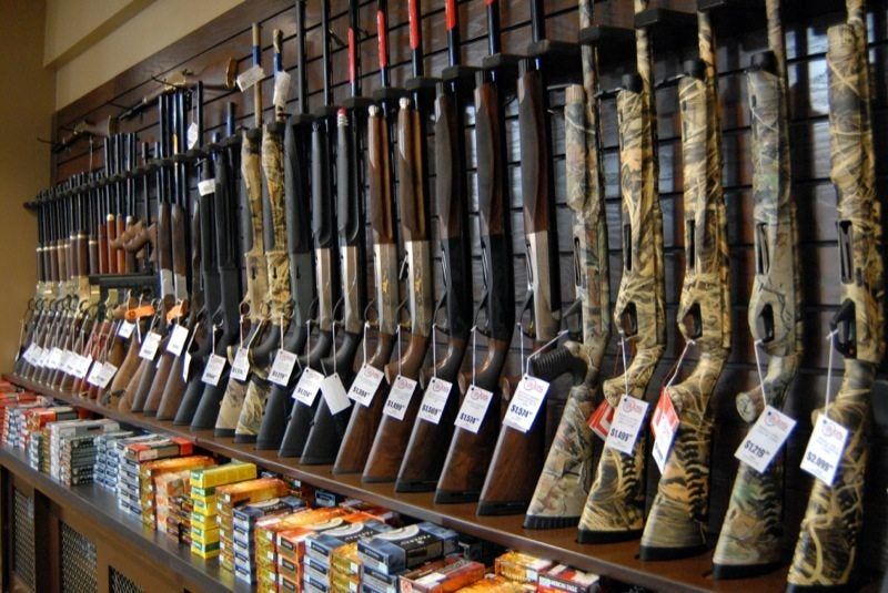 Most criminals get their guns through illicit sources on the street or are gifted guns by friends or relatives.