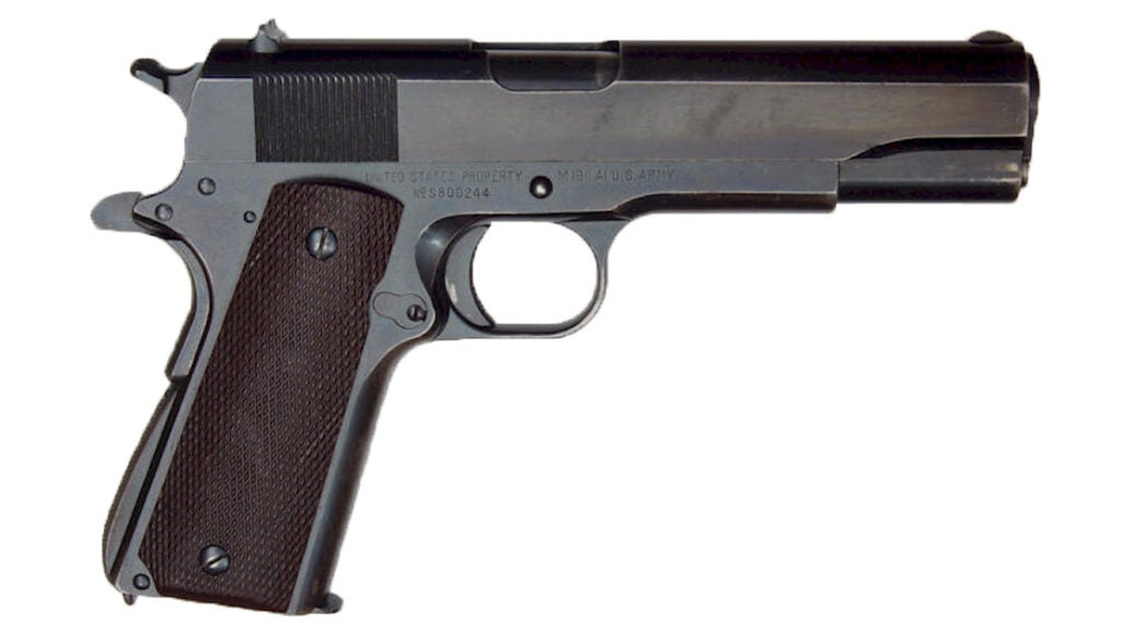 There's a chance a rare Singer 1911, like this one,