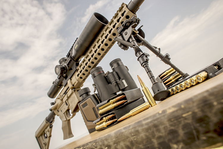 While the round was designed for ARs, it offers superb long-range performance in bolt-action rifles, the company says.