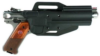 The new Pac-Lite holster for the Ruger Mark series of .22LR pistols.