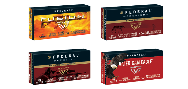 The Valkyrie will be released with four bullet options.