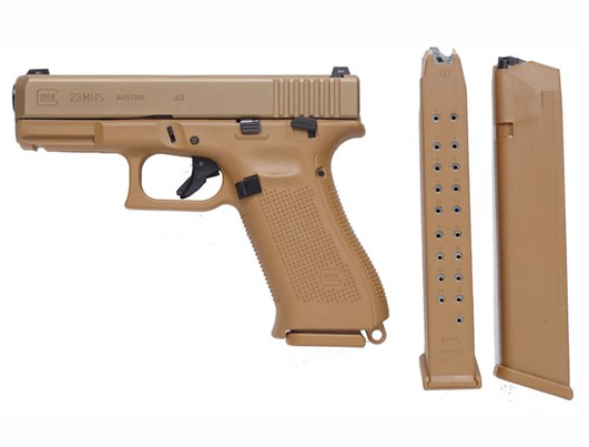 A Glock With a Manual Safety