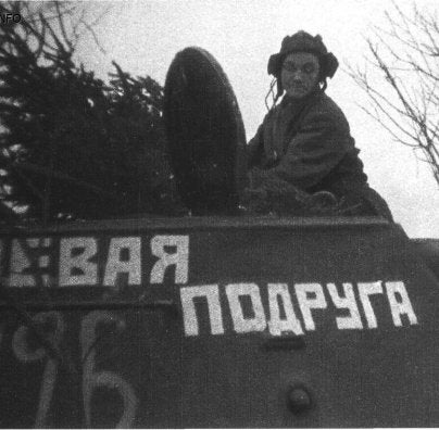 The Soviet Woman Who Got Her Own Tank to Fight Nazis