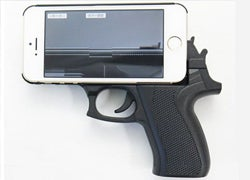 Gun-Shaped Phone Case Gets Called Out