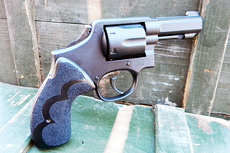 There are few things finer than a custom revolver built specifically for you. This is a custom S&W Model 13 built by Tiger McKee.