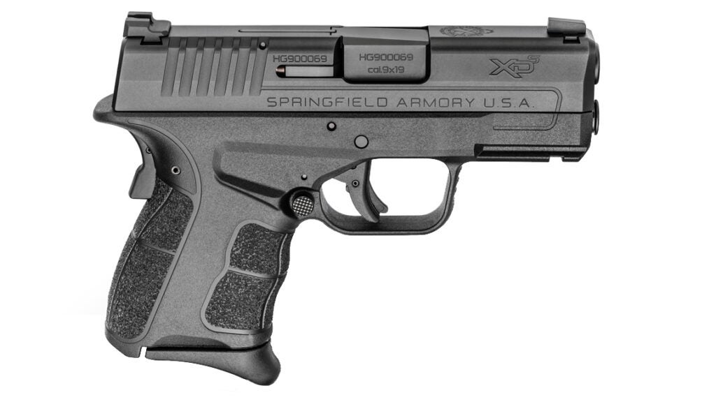 The new Springfield XD-S Mod.2 in 9mm is designed for concealed carry.