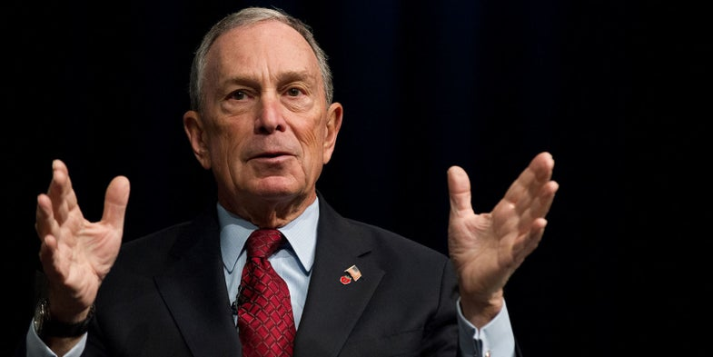 Bloomberg Group Will Spend $25 Million to Fight Self-Defense Proposals