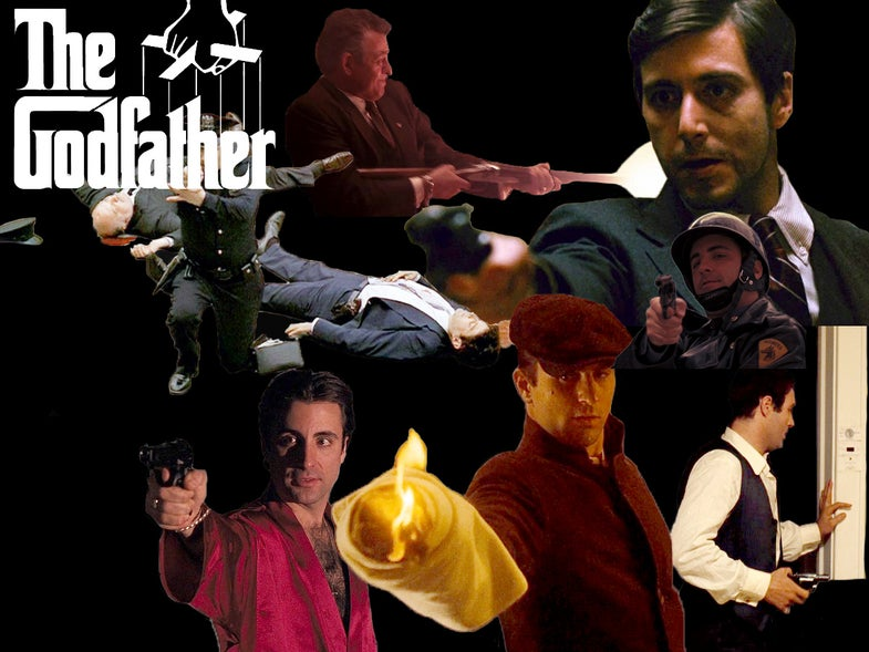 Guns of The Godfather Movies