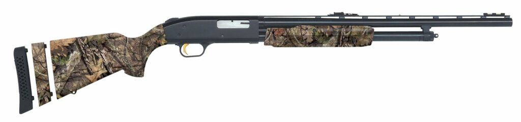 The Mossberg 500 Youth Super Bantam 20 gauge shotgun is a great choice.