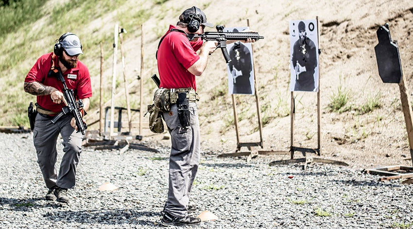 Of course, not all the rifle courses are long-range.