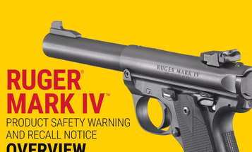 Ruger Recalls Most Mark IV Pistols Over Safety Issue